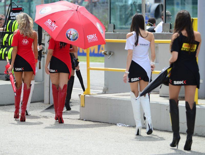 Umbrella girls Ducati Misano Adriatico