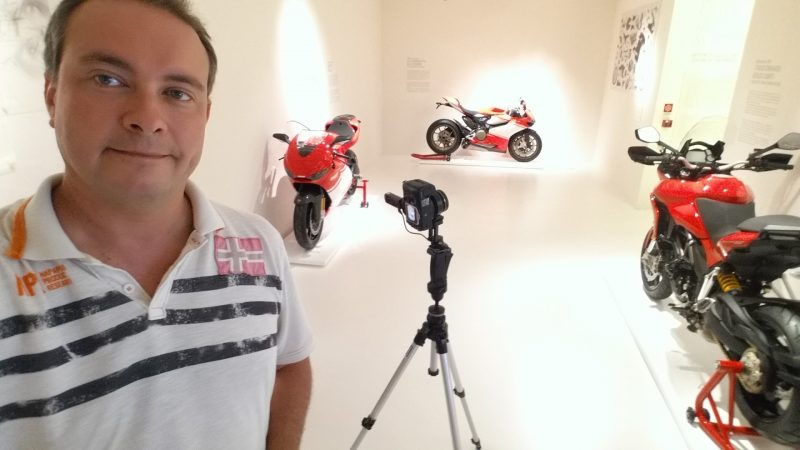 virtual tour google museo ducati