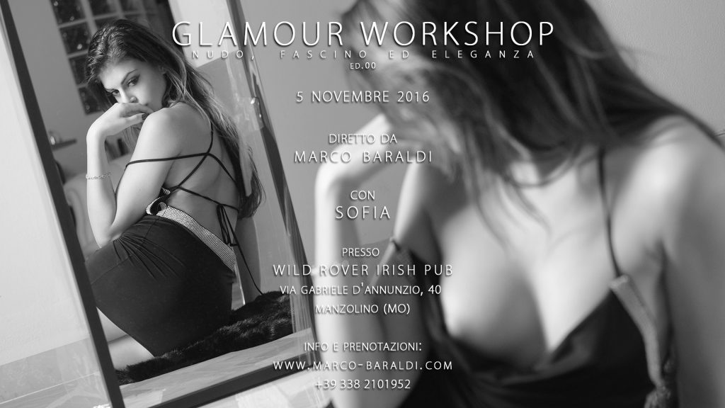 Workshop nudo e glamour by Marco Baraldi